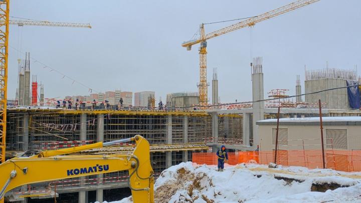 В Перми началось строительство отеля Radisson в МФЦ «Эспланада»