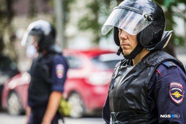 Наркоторговца задержали полиция и спецотряд
