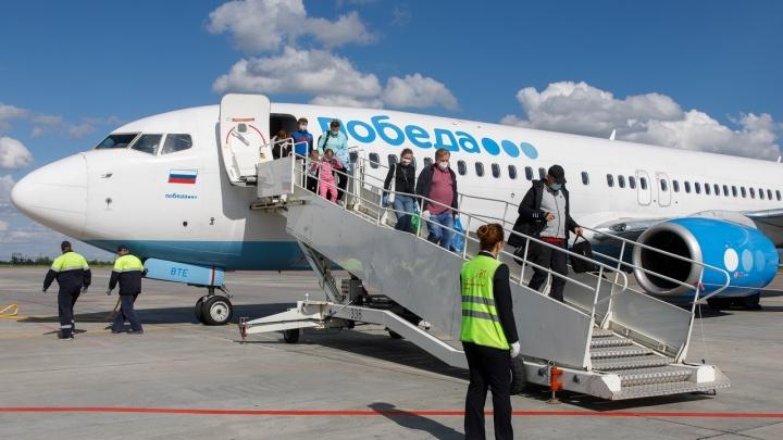 Развернулся над Воронежем: рейс «Победы» из Москвы не долетел до Волгограда