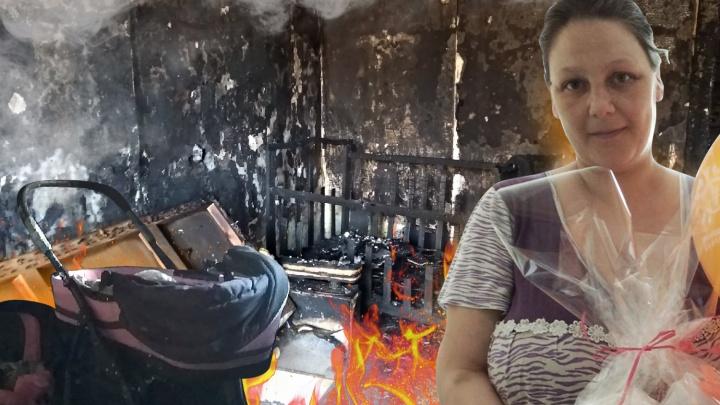 «Огонь преследовал их семью»: в Волгограде мать и пятеро детей едва не сгорели заживо в аварийном доме