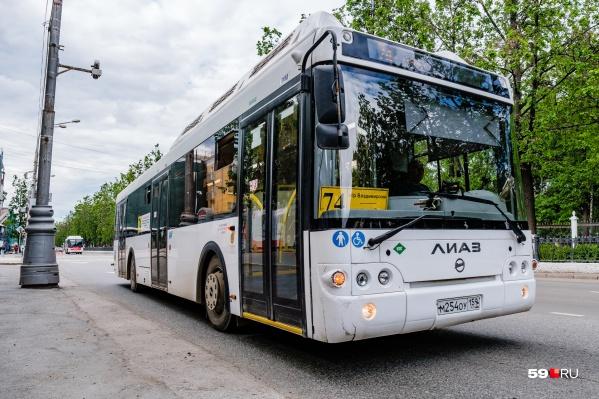 На линии будут выводить больше автобусов