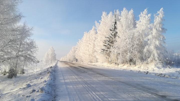 Морозно с прояснениями: синоптики рассказали о погоде на выходные в Прикамье