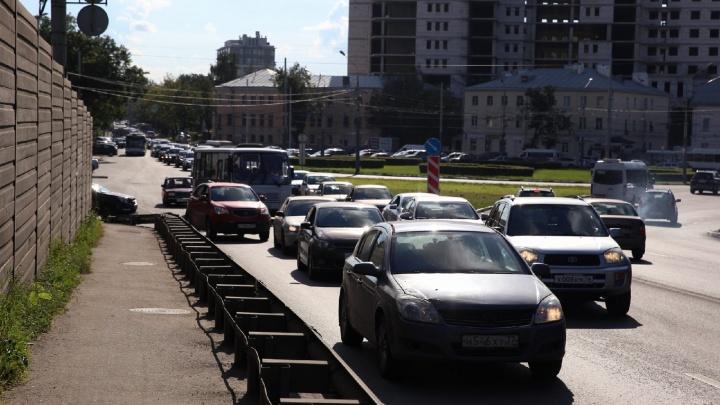 Из-за нескольких ДТП в Ярославле образовались пробки на дорогах: где затруднено движение