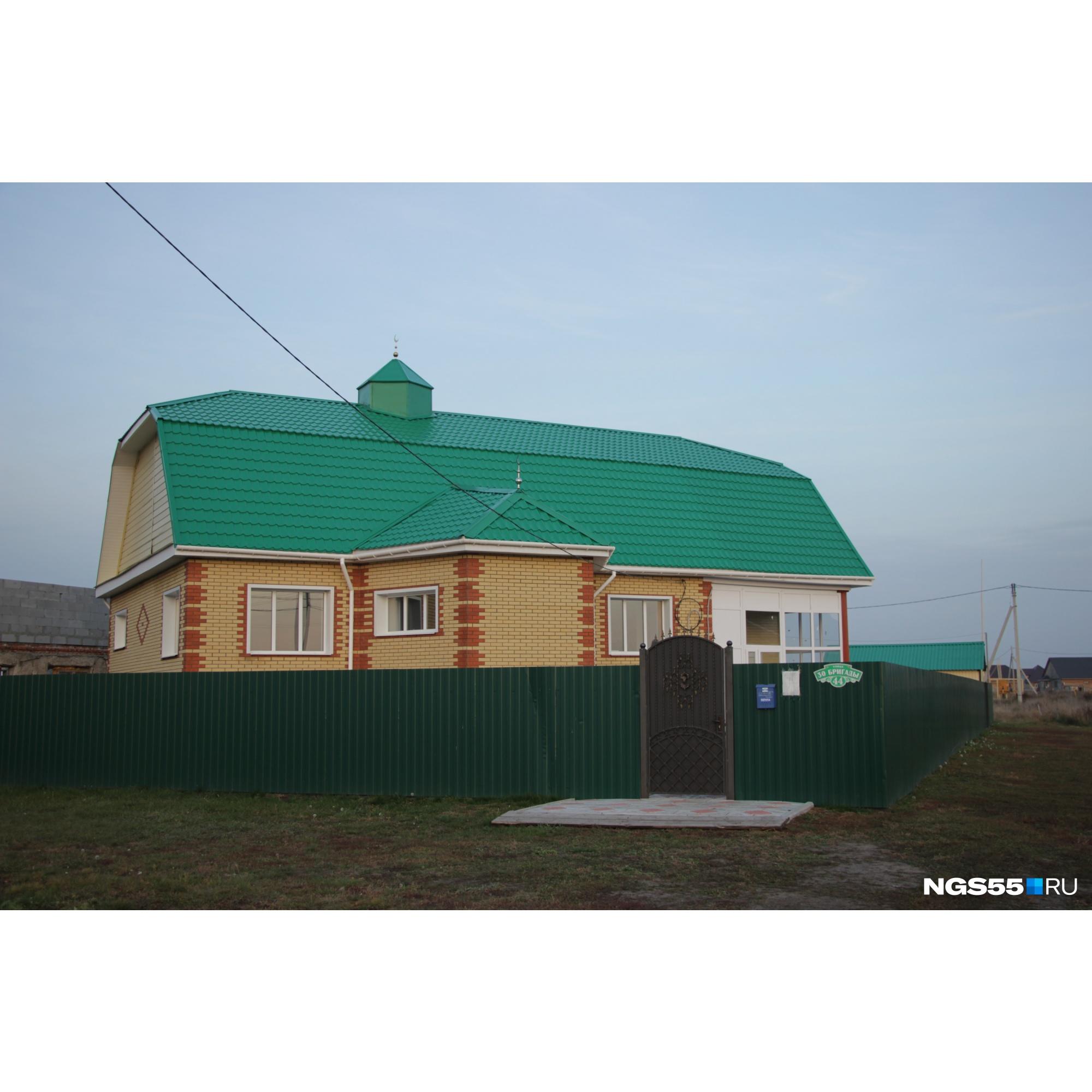Мечеть появилась не так давно