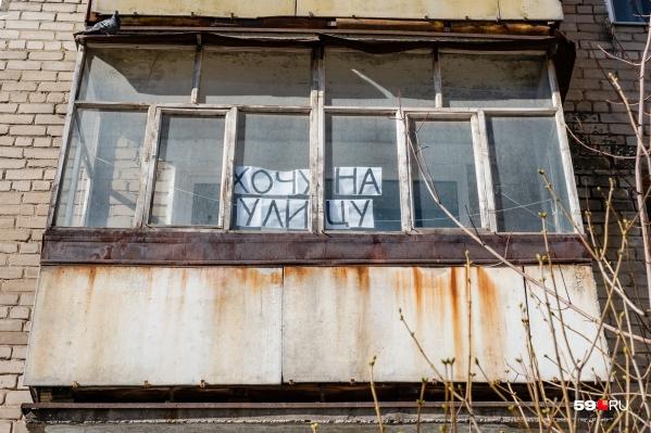 Крик души на улице Пушкина