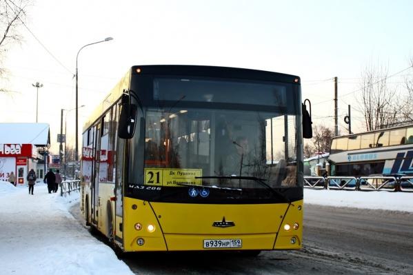 На ряде маршрутов большие автобусы заменят машинами среднего класса