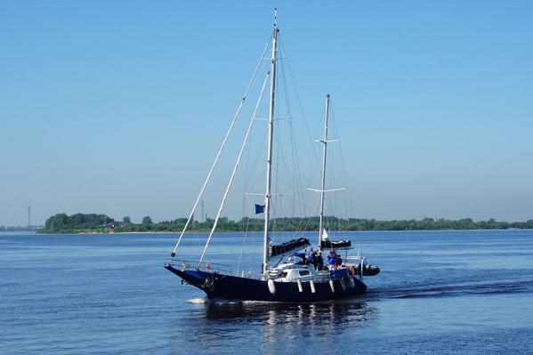 До Архангельска яхта побывала в Карелии