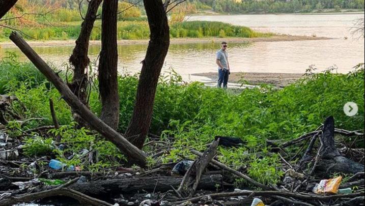 Омичи собрали 7 тысяч литров мусора на «Зелёном острове»