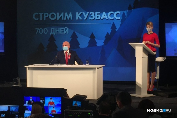 Пресс-конференция губернатора состоялась 8 октября