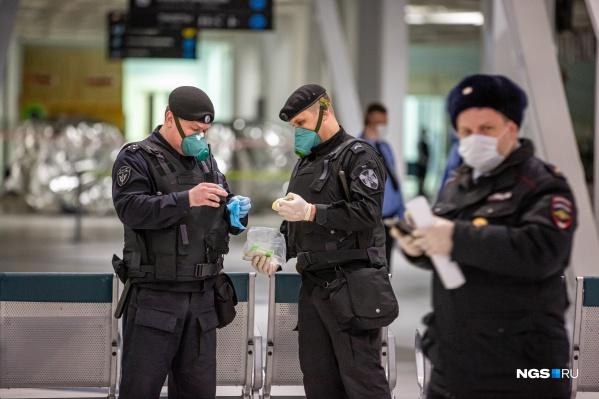 Одну нарушительницу карантинного режима задержали прямо в аэропорту