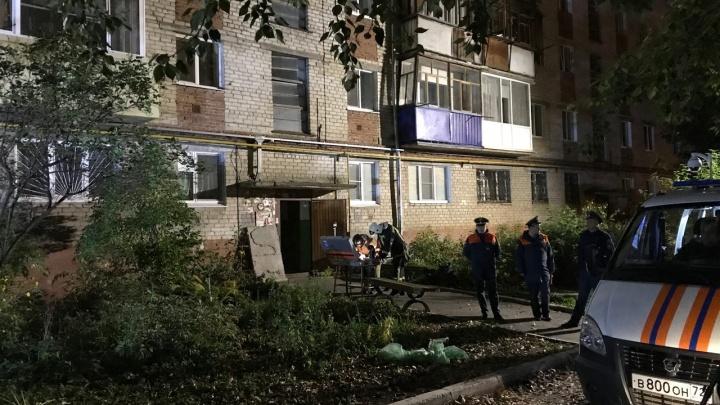 Первые секунды после взрыва: публикуем видео из дома на 50 лет ВЛКСМ, где выбило стены и окна