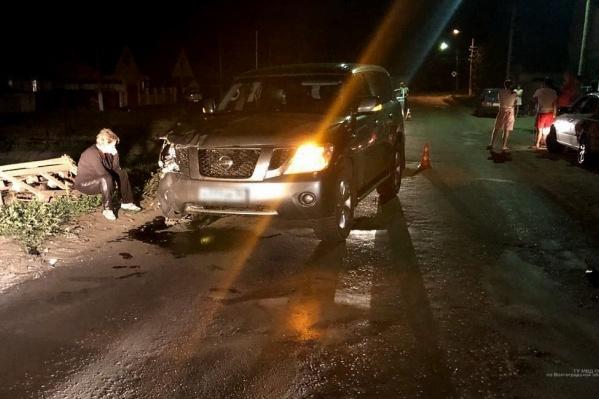 Авария произошла около часа ночи на улице Пугачевской в Новоаннинске