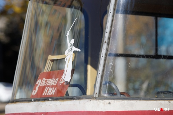 Из-за реконструкции в Волгограде остановили работу трамвая № 3