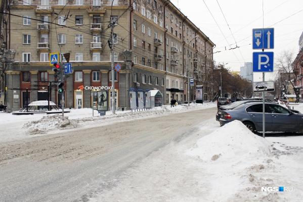 Односторонний участок Советской