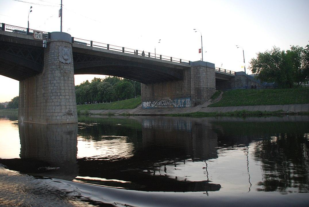 Ново-Волжский мост в Твери