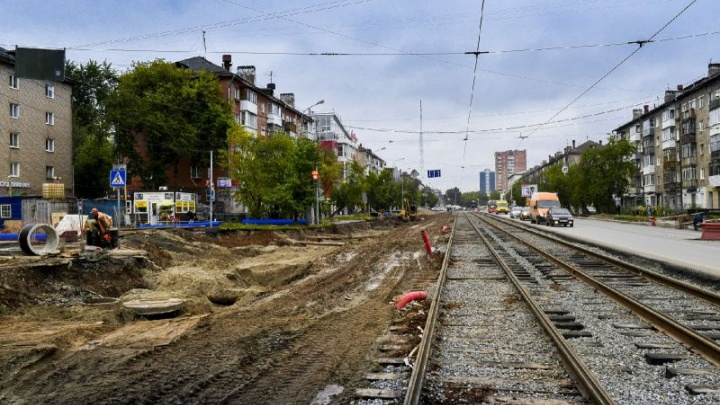 В Перми по улице Крупской запустят движение трамваев