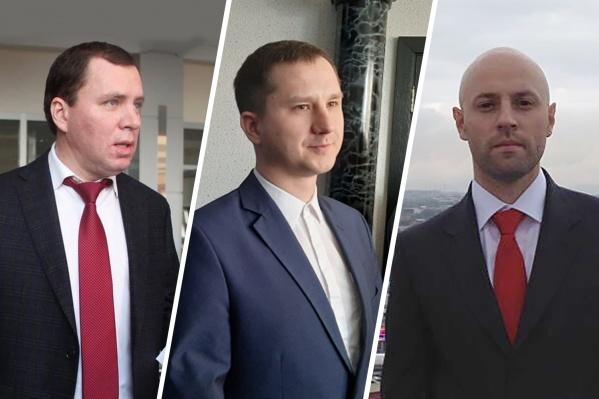 Они займут руководящие посты в трех министерствах