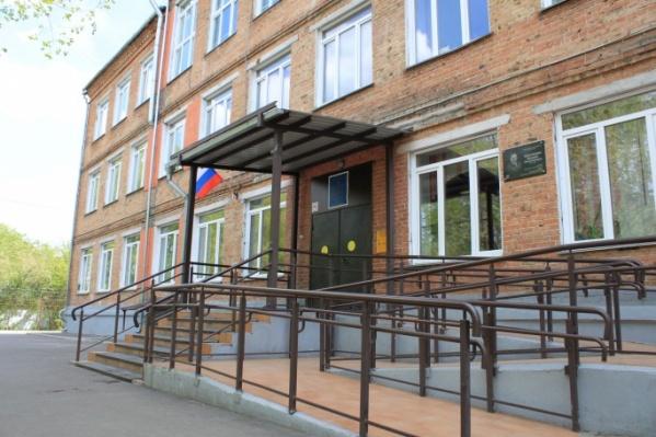 Класс ГУФСИН работает при школе № 72