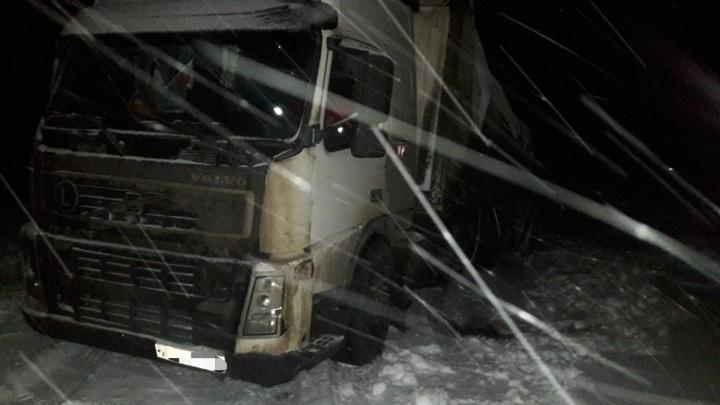 Виноват снегопад: на трассе в Самарской области погиб 51-летний водитель грузовика