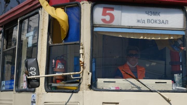 В Челябинске наказали водителей общественного транспорта за работу без масок