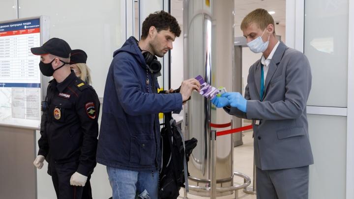 «Как селёдки в банке»: пассажиры о карантинных мерах во Внуково и аэропорту Волгограда