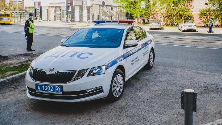 В Перми ГИБДД проводит массовые проверки водителей