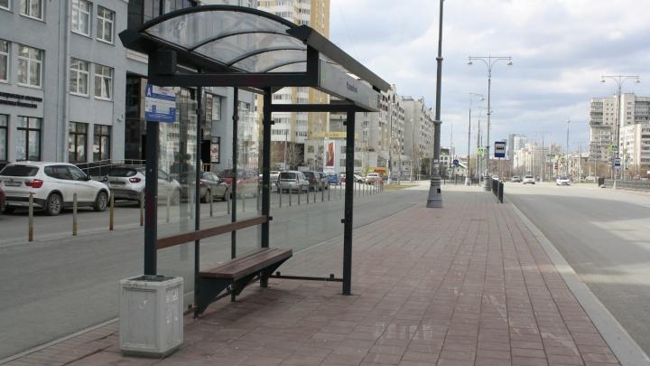 Где в Екатеринбурге появятся новые остановочные комплексы: список