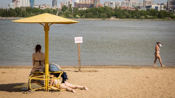 Когда начнётся купальный сезон? Пока посетителям пляжей грозят только штрафы