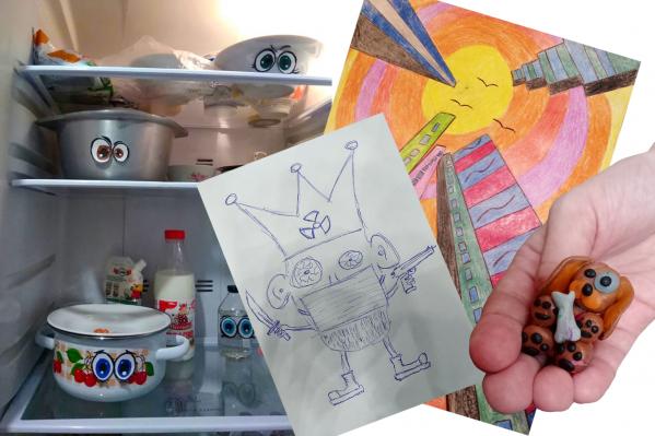 «А у нас в холодильнике — еда с глазами»