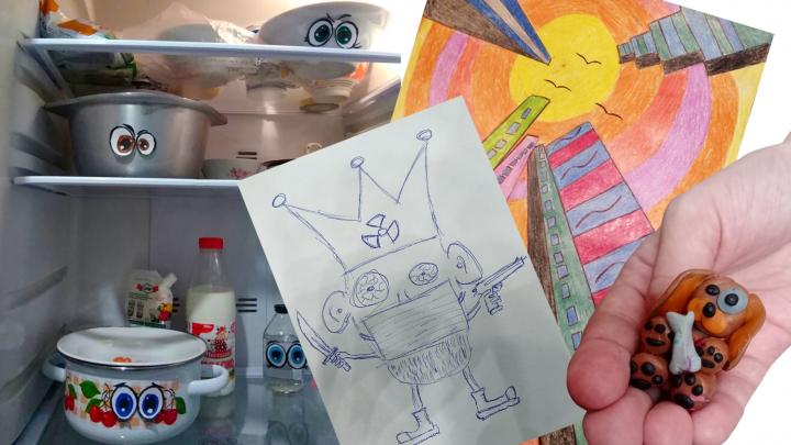 «Портрет коронавируса»: показываем творчество детей Самарской области на карантине