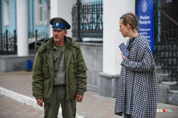Ксения Собчак прилетала и на суд над Сергием Романовым, но он проходил в закрытом режиме, и телеведущую не пустили на заседание