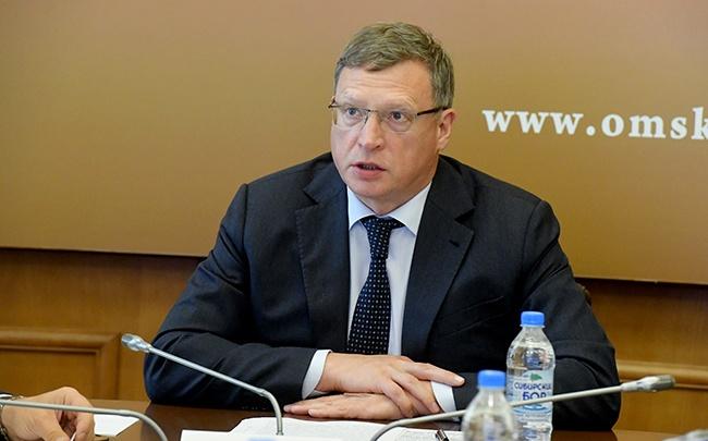 Омский губернатор Александр Бурков задекларировал доход в семь миллионов рублей