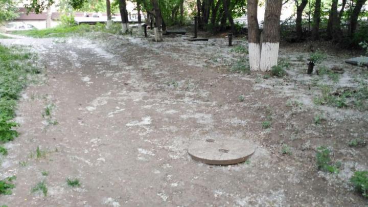 По Красноярску на месяц раньше полетел тополиный пух