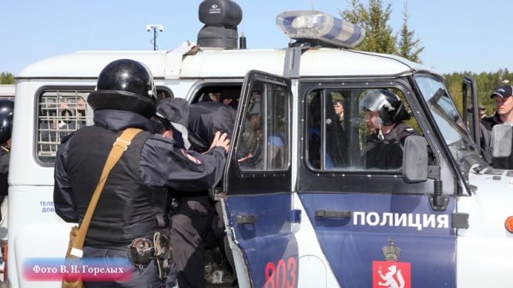 В Екатеринбурге полицейский выстрелил в мужчину, который набросился с ножом на его напарника