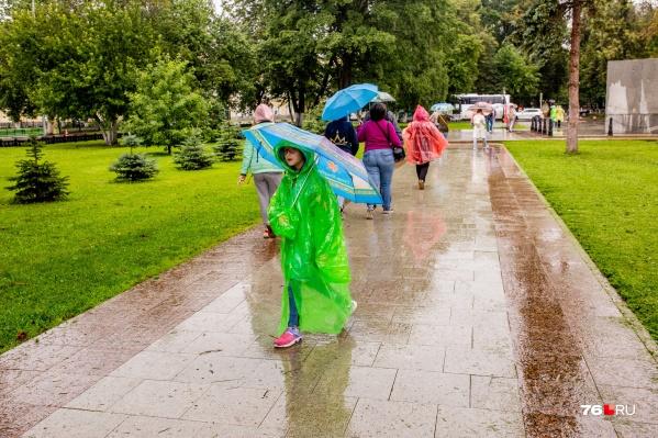 Готовьте зонты