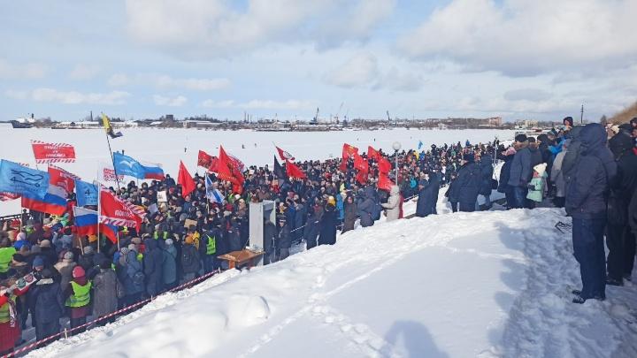 Единый день экопротеста в Архангельске: стрим 29.RU с митинга на набережной Северной Двины