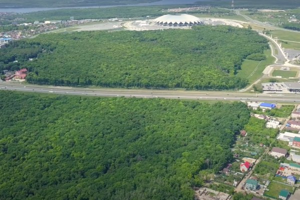 Стадион построили в самой высокой точке Самары