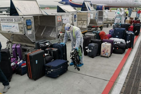 Туристов привезли в Екатеринбург из Нью-Йорка 31 мая