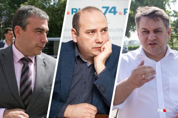 Главы Ленинского, Центрального и Калининского районов (слева направо) остались на своих местах