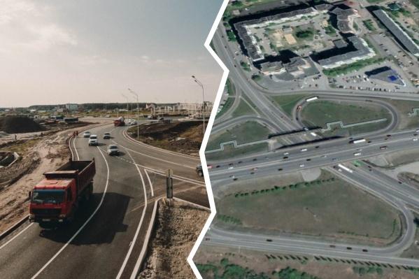 Посмотрели на спутниковые снимки, чтобы сравнить прогресс Тюмени за десятилетие