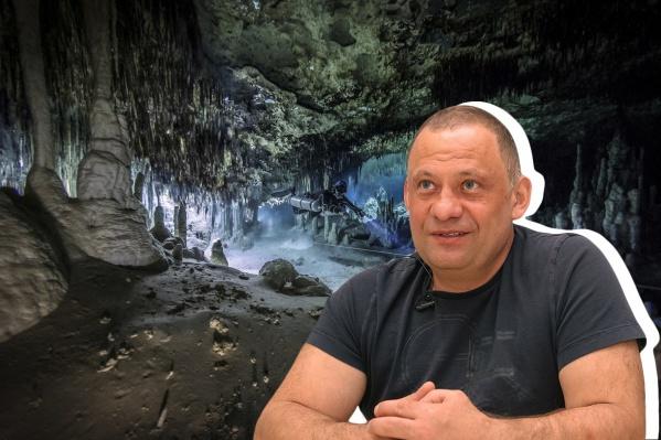 Дмитрий Ефремычев начал нырять еще в 90-е годы<br>