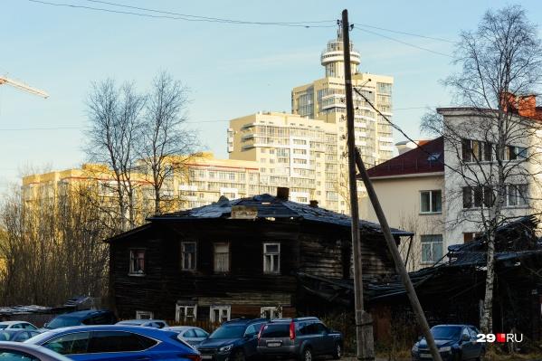 Аварийное жилье — одна из главных проблем Архангельска