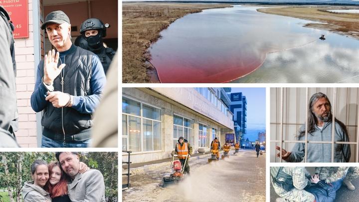 Неожиданные задержания, дерзкое ограбление и экологические катастрофы: коротко об итогах уходящего года
