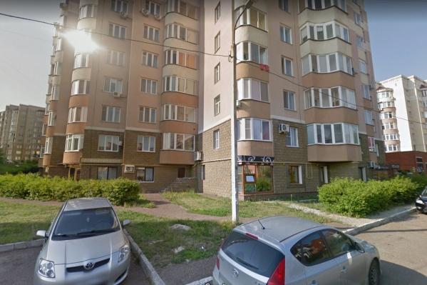Трагедия произошла во дворе дома на Софьи Перовской