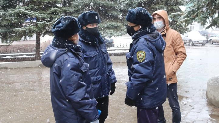 В Уфе проходят рейды по соблюдению масочного режима. Нарушителям грозят штрафы
