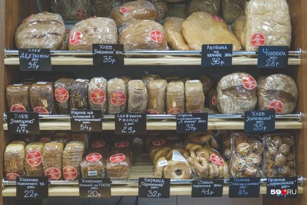 Хлеб в среднем подорожал на0,39–1,36%