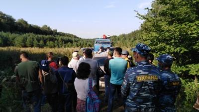 В Башкирии люди в форме скрутили защитников шихана Куштау, есть видео