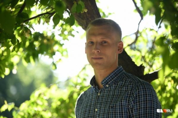 Максим Шибанов попал в тот день в сквер совершенно случайно