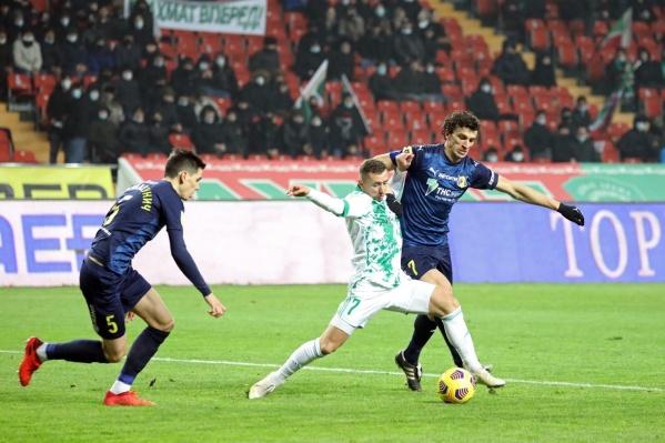 Победный гол «Ростов» забил на 82-й минуте