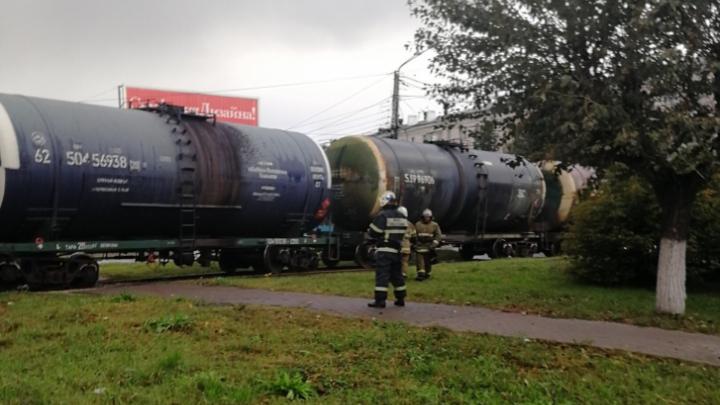 Авария на железной дороге не могла стать причиной запаха газа в Нижнем Новгороде